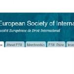 European Society of International Law