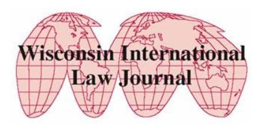 Wisconsin-International-Law-Journal