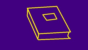 simple graphic of a book