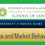 University of Hawai'i at Manoa William S. Richardson School of Law and University of Notre Dame LAMB