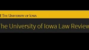 Iowa Law Review