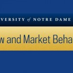 Research Program on Law and Market Behavior at Notre Dame Law School (ND LAMB)