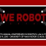 We Robot 2015