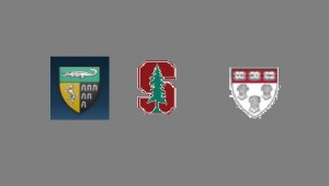 Yale, Stanford, and Harvard logos