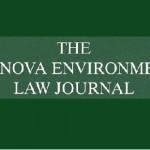 Villanova Environmental Law Journal