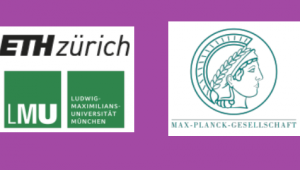 ETH Zurich, LMU, and Max Planck Gesellschaft logos