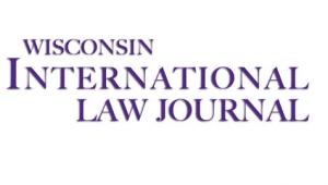 Wisconsin Int'l Law Journal
