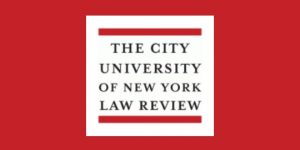"CFP Deadline: CUNY L. Rev. ""Democracy at Your Fingertips"""
