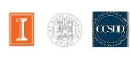 University of Illinois, University of Bologna, and CCSDD logos
