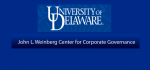 Weinberg Center for Corporate Governance