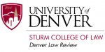 University of Denver Sturm College of Law, Denver Law Review logo
