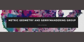Metric Geometry and Gerrymandering Group