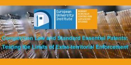logo for 3rd FCP Competition Law and Standard Essential Patents