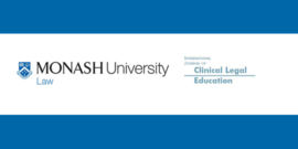 monash university and international journal of clinical legal education