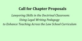 Lawyering Skills in the Doctrinal Classroom