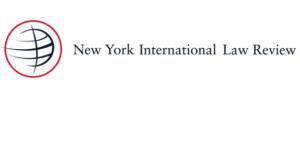 CFP: New York International Law Review