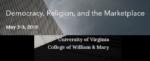 Democracy, Religion, and the Marketplace logo