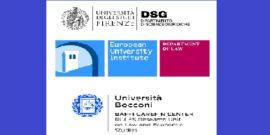 logos of Universita degli Studi Firenze, European University Institute, Universita Bocconi