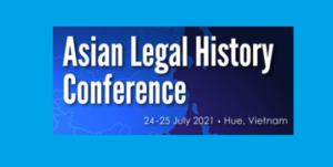 CFP Deadline: Asian Legal History @ Hue University